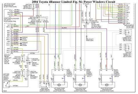 2005 toyota corolla power window wiring diagram corolla