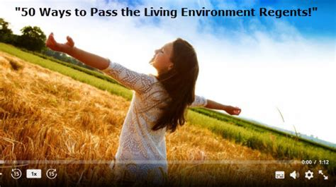 100 kaplan living environment regents biovideotutor home of quot 50 ways to pass the living