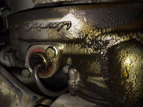 left valve cover cam adjust solenoid leak rennlist