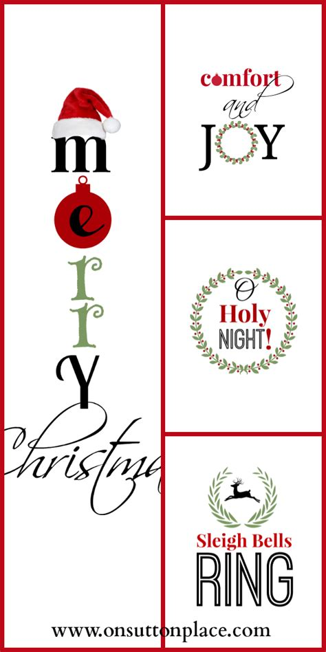 christmas diy decorations printouts 50 ideas tgif this is