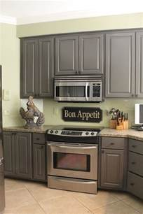 Grey Color Kitchen Cabinets Miss Kopy Kitchen Mini Makeover
