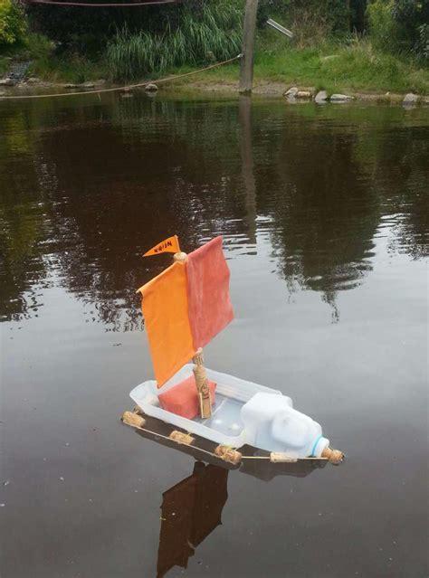 bootje zelf maken boot knutselen die kan drijven ov68
