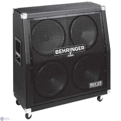 User Reviews Behringer Ultrastack Bg412s Audiofanzine Behringer 4x12 Guitar Cabinet