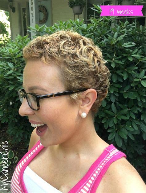 chemo regrowth   style  short hair hair loss