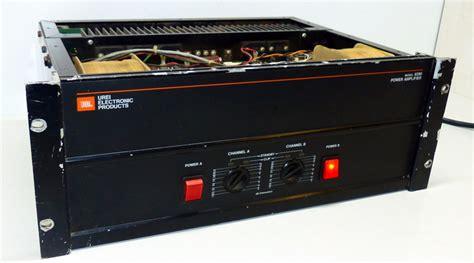 Power Lifier Mobil Jbl jbl urei 6290 power lifier pa endstufe 2 x 800 watt kanal a defekt 749 ebay