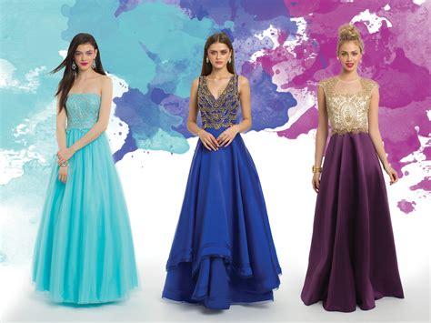 color prom dresses camille la vie
