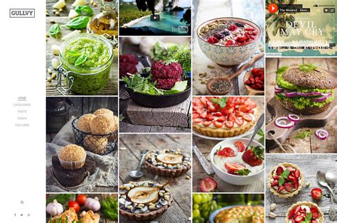 blogger food 20 beautiful wordpress food blog themes 2018 colorlib