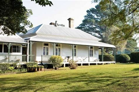 Celebrity Homes Restored Home In Australia Small Country House Plans Australia