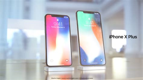 iphone 10 plus new renderings imagine 6 7 inch iphone x plus