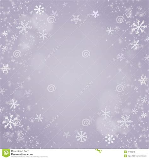 Christmas Snowflakes Background Holiday Card Stock Illustration Image 35169048 Card Background Templates 2