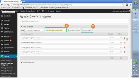 wordpress tutorial gallery nextgen gallery el plugin para crear galer 237 as de im 225 genes