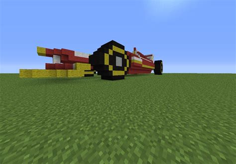 minecraft car formula 1 car 2012 minecraft project
