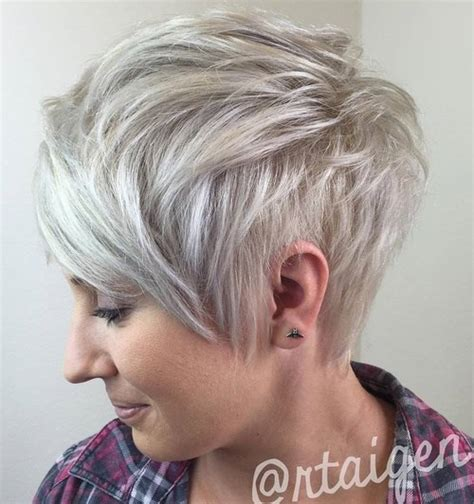 ash blonde pixie 70 pixie cut ideas for 2017 short shaggy spiky edgy