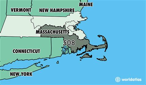 us area code massachusetts where is area code 508 map of area code 508 worcester