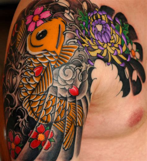 colorful koi fish tattoo designs animal tattoos page 30