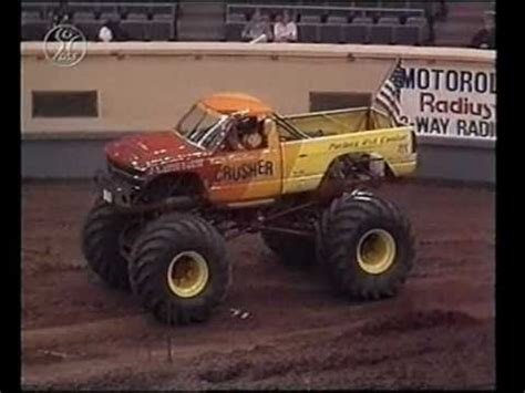 okc monster truck show ushra monster trucks 1991 oklahoma city ok show 1 deutsch