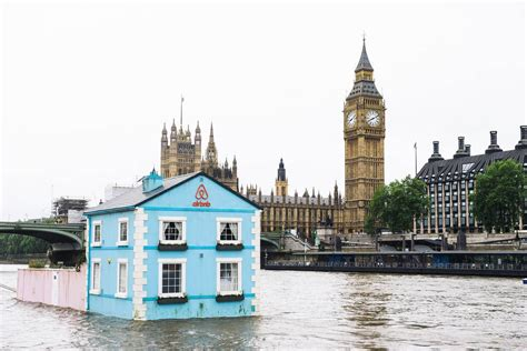 Thames Floating House | floating house on the river thames houses for rent in london