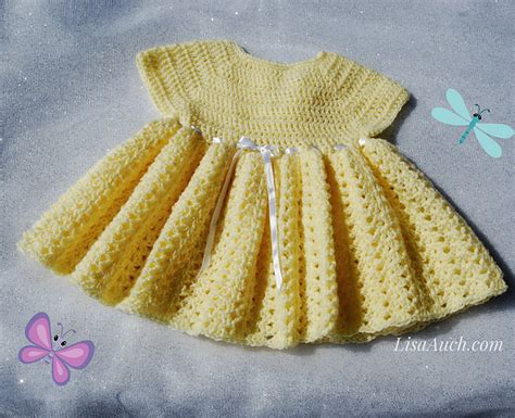 crochet pattern little white dress crochet patterns galore easy baby dress