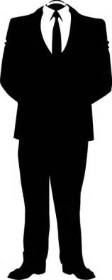 A Suit Clipart anonymous business suit clip at clker vector