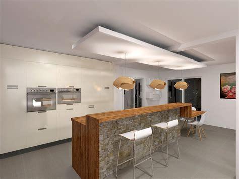 indogate cuisine moderne ouverte sur salon