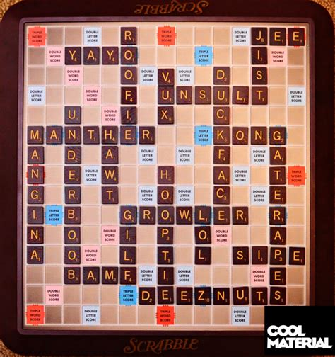 Dictionary Scrabble Cool Material