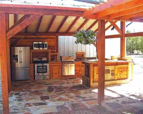 country outdoor kitchen ideas daniel designs outdoor living hill country style