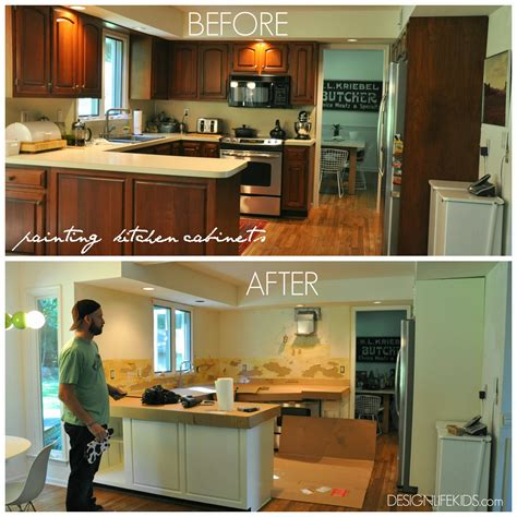 kitchen design diy diy design painting kitchen cabinets