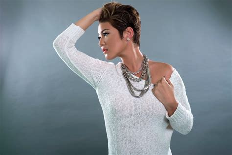 tessanne chin clear 2014 commercial hairstyle tessanne chin is the winner of the voice short hairstyle