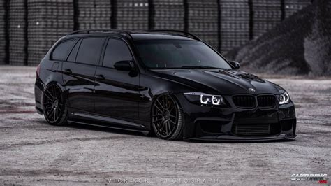 tuning bmw tuning bmw 330d touring e91 front