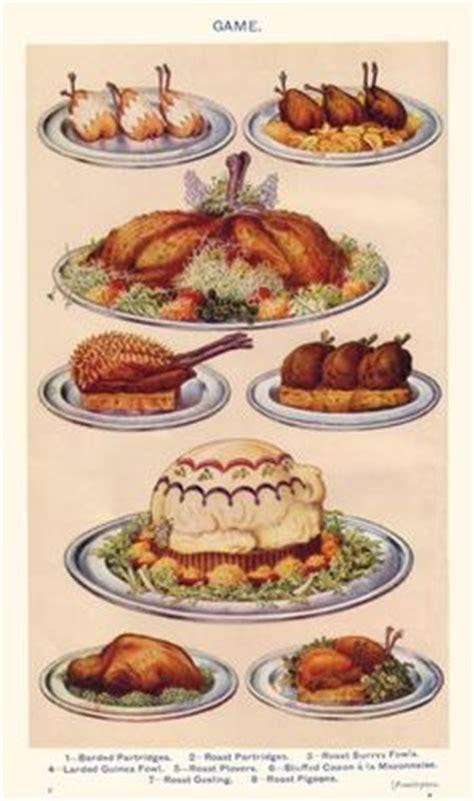 image cuisine am駭ag馥 dinner menu etiquette summary era