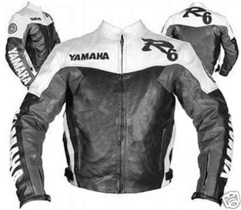 Motorrad Lederjacke Eng by Yamaha R6 Schwarz Wei 223 Und Grau Farbe Motorrad Lederjacke