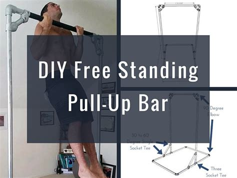 diy free standing pull up bar diy free standing pull up bar