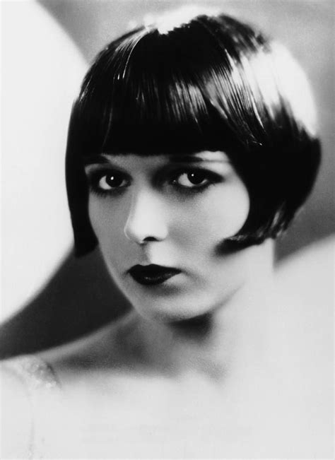 hairatyles for late twenties louise brooks ca late 1920s photograph by everett