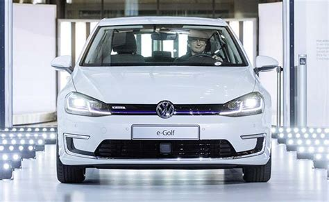 E Golf Autostadt by Vw Is To Produce The New E Golf In Dresden As Well As