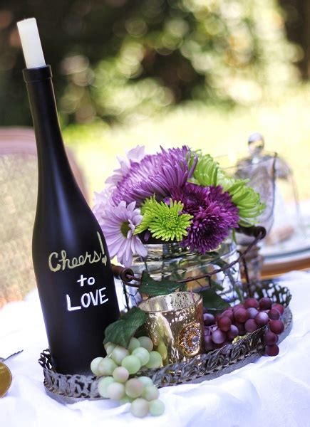 oversized chagne glass centerpieces slight schedule change this saturday september 29 vino