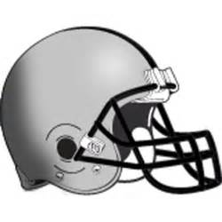 Football Helmet Outline Profile by Football Helmets Clipart Best