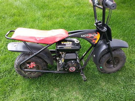 doodlebug mini bike header motovox mbx10 with exhaust and mbx11 starting a predator