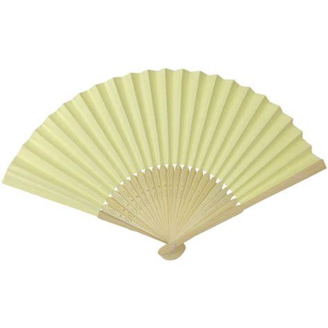 Paper Folding Fan - folding paper fan 8 25 quot banana yellow