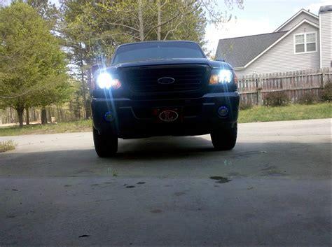 ford ranger fog lights halo fog lights installed ford ranger forum