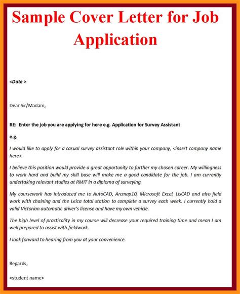 Cover Letter Posting by Cover Letter Posting