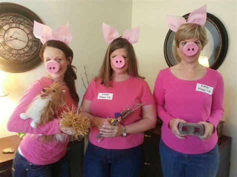 diy halloween   pigs halloween change