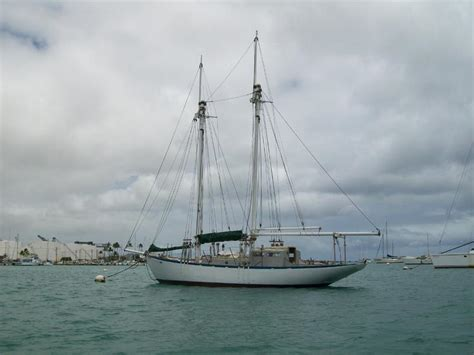 sail boat for sale uk 1953 new zealand classic schooner yacht sailboat for sale