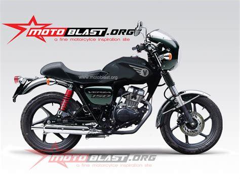 Lu Sein Custom Bulat modif honda verza 150 retro style terbaru motoblast