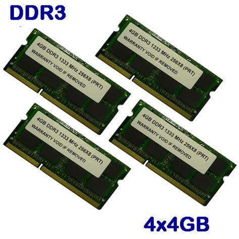 Memory Imac 4gb 16gb 4x 4gb Ddr3 1333mhz Ram Memory For Apple Imac New Ebay