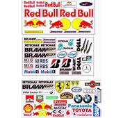 Full Colour High Quality Vinyl Stickers And Decals For Rc