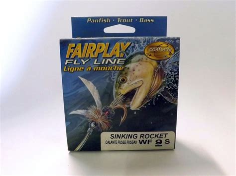 sinking saltwater fly line cortland fairplay sinking rocket taper fly line wf 9 s