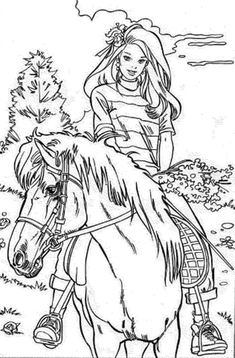 barbie animal coloring pages barbie horse coloring pages bestappsforkids com