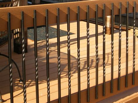 Outdoor Railing Spindles Exterior Iron Railing Deck Railing Ideas Balusters Deck