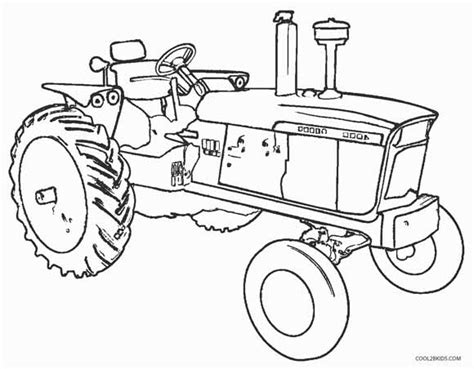 free old john deere tractors coloring pages