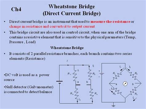 wheatstone bridge derivation pdf wheatstone bridge authorstream
